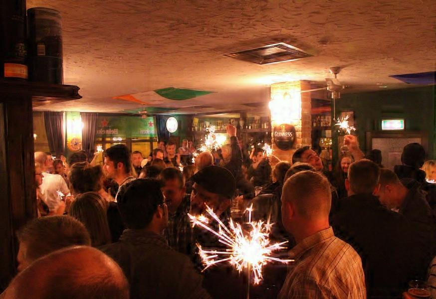 enjoy the Pub Atmosphere